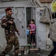 Turkija pareiškė surengsianti karinę operaciją prieš Sirijos kurdus
