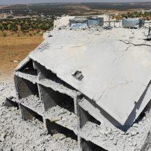 Žlugo paliaubos šiaurės vakarų Sirijoje: žuvo dar 4 civiliai