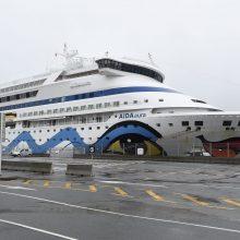 Įtarimai dėl koronaviruso vokiečių kruiziniame laive Norvegijoje nepasitvirtino