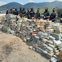 Hondūre policija atkasė pusantros tonos kokaino