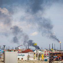 Rumunijoje per sprogimą naftos perdirbimo įmonėje žuvo žmogus, dar penki sužeisti