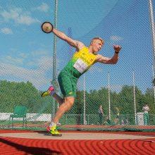 M. Alekna iškovojo pasaulio jaunimo čempionato auksą