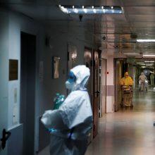JAV per parą nuo koronaviruso mirė 1 225 žmonės