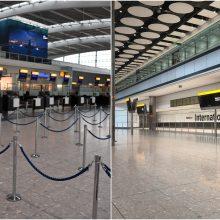 """""""British Airways"""" dėl streiko atšaukė visus rugsėjo 27 d. skrydžius"""