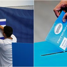Izraelyje vyksta parlamento rinkimai: ar premjeras toliau tęs darbą?