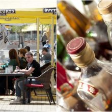 Seimui teikiami siūlymai dėl lauko kavinių: draudimai daro žalą verslo plėtrai?