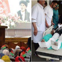 Afganistane netoli prezidento kampanijos renginio sprogo bomba: žuvo dešimtys žmonių