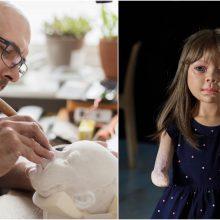 Pavojingą ligą simbolizuojančią lėlę sukūręs skulptorius: tai – testas tėvams