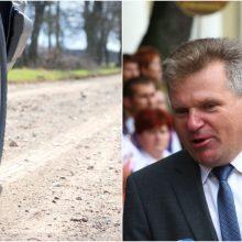 Susisiekimo ministras: žvyrkelių asfaltavimas gali vėluoti dėl griežtesnės kontrolės
