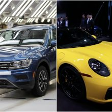"""Volkswagen"" ir ""Porsche"" atšauks 227 tūkst. automobilių: būtini atnaujinimai"