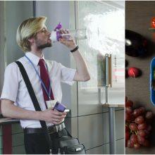 Sveikatos stiprinimas mobiliose darbo vietose: daugiau vandens ir sveiko maisto