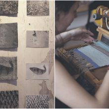 Tekstilės gijos suriša skirtingas kartas, patirtį ir smalsumą