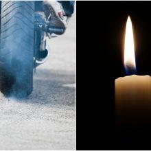 Nelaimė Širvintose: atsitrenkęs į automobilį žuvo motociklininkas