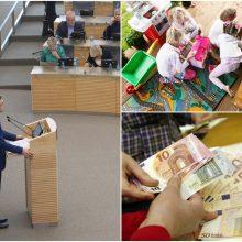 Seimas spręs dėl vaiko pinigų padidinimo