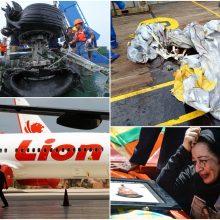 """Tyrėjai: esminis """"Lion Air"""" katastrofos veiksnys – """"Boeing"""" skrydžio valdymo sistema"""