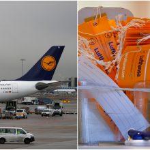 """Vokietijos teismas """"Lufthansa"""" darbuotojams leido pradėti streiką"""