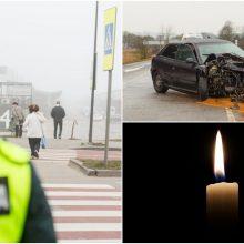 Trečiadienį užregistruota daugiau nei 100 eismo įvykių: labiausiai nukentėjo pėstieji