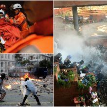 Honkonge dėl protestų atšaukiamas golfo turnyras, rengtas 60 metų iš eilės