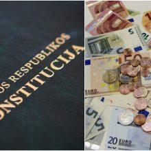 Stambios prekybos mokestis galimai prieštarauja Konstitucijai?