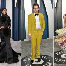"""""""Oskarų"""" dalybose – įspūdingo stiliaus paradas"""