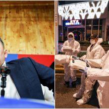 Po viešnagės Kinijoje karantinuotas Mongolijos prezidentas