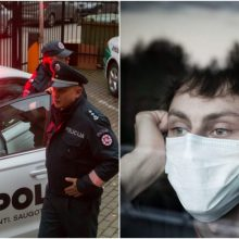 Policija trečiadienį sulaukė daugiau nei 300 pranešimų dėl karantino nesilaikymo