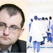 Profesorius apie medikų dieną: nepamirškite mūsų ir kai pandemija pasibaigs