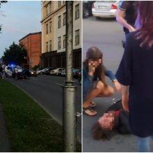 Netoli Kauno pilies – eismo nelaimė: automobilis partrenkė vyrą