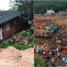 Mianmare purvo nuošliaužos nušlavė keliolika namų: aukų skaičius vis auga