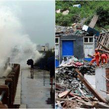 """Kinijai smogė taifūnas """"Lekima"""": evakuota daugiau nei 1 mln. žmonių"""
