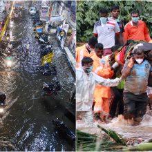 Indijoje per liūčių sezoną jau žuvo 244 žmonės: iškilo potvynio grėsmė
