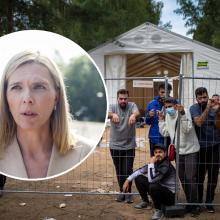 Ministrė sąlygomis nepatenkintiems migrantams: neturime galimybės suteikti 5 žvaigždučių viešbučio