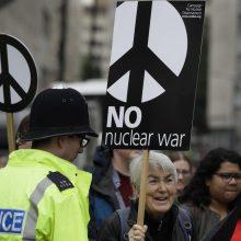 Rusijos ir JAV laukia derybos dėl branduolinio stabilumo