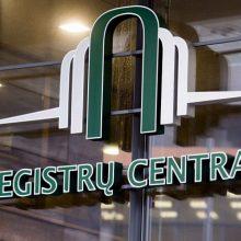 Sutriko Registrų centro sistemos