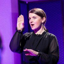 R. Verbickienė: vis daugiau žmonių susidomi gestų kalba