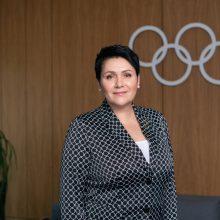 LTOK prezidentė D. Gudzinevičiūtė – Tokijo olimpinių žaidynių drausmės komisijos narė