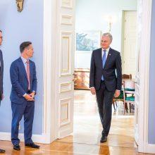 G. Nausėda: JAV – viena pagrindinių partnerių saugumo ir ekonominių santykių srityje