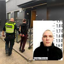 Kaune sulaikytas vienas iš Pravieniškių pabėgęs nuteistasis, kito bėglio paieška tęsiama
