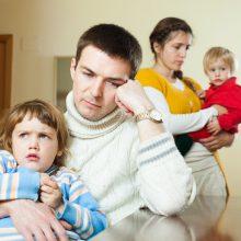 Emocinės pagalbos jau gali kreiptis ir tėvai