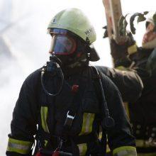 Vilniuje užsiliepsnojo namas: ant kojų sukelti ugniagesiai