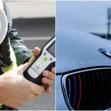 Kauno pareigūnams įkliuvo girtas ir beteisis BMW vairuotojas