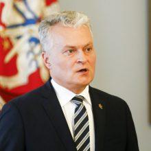 G. Nausėda apie A. Lukašenkos pasisakymus: jis turėtų padėti automatą ir kalbėtis