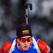 Dar vienas biatlonininkų rekordas: N. Kočerginos ir T. Kaukėno duetas užėmė 15 vietą
