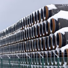 """A. Blinkenas perspėjo Vokietijos URM vadovą dėl JAV sankcijų """"Nord Stream 2"""""""