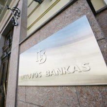 Lietuvos bankas siūlo steigti fondą didesnėms įmonėms remti, užtikrinti atsiskaitymus