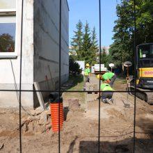 Startas: statybininkai pradeda Lapių lopšelio–darželio rekonstrukciją