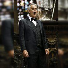 Italų tenoras A. Bocellis prisipažino persirgęs COVID-19