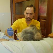 J. Sakalauskas: savanorystė hospise išprovokavo vidinį dialogą su savimi