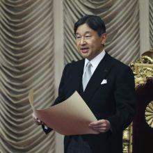 Baiminasi koronaviruso: Japonijoje atšauktas imperatoriaus gimtadienio minėjimas