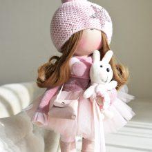 Jaukios: tekstilinės lėlės – minkštutės ir mielos, net ir be šypsenos veide kuriančios ypatingas emocijas
